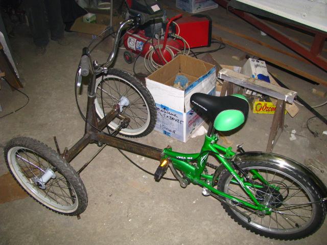 Самоделки для велосипеда видео